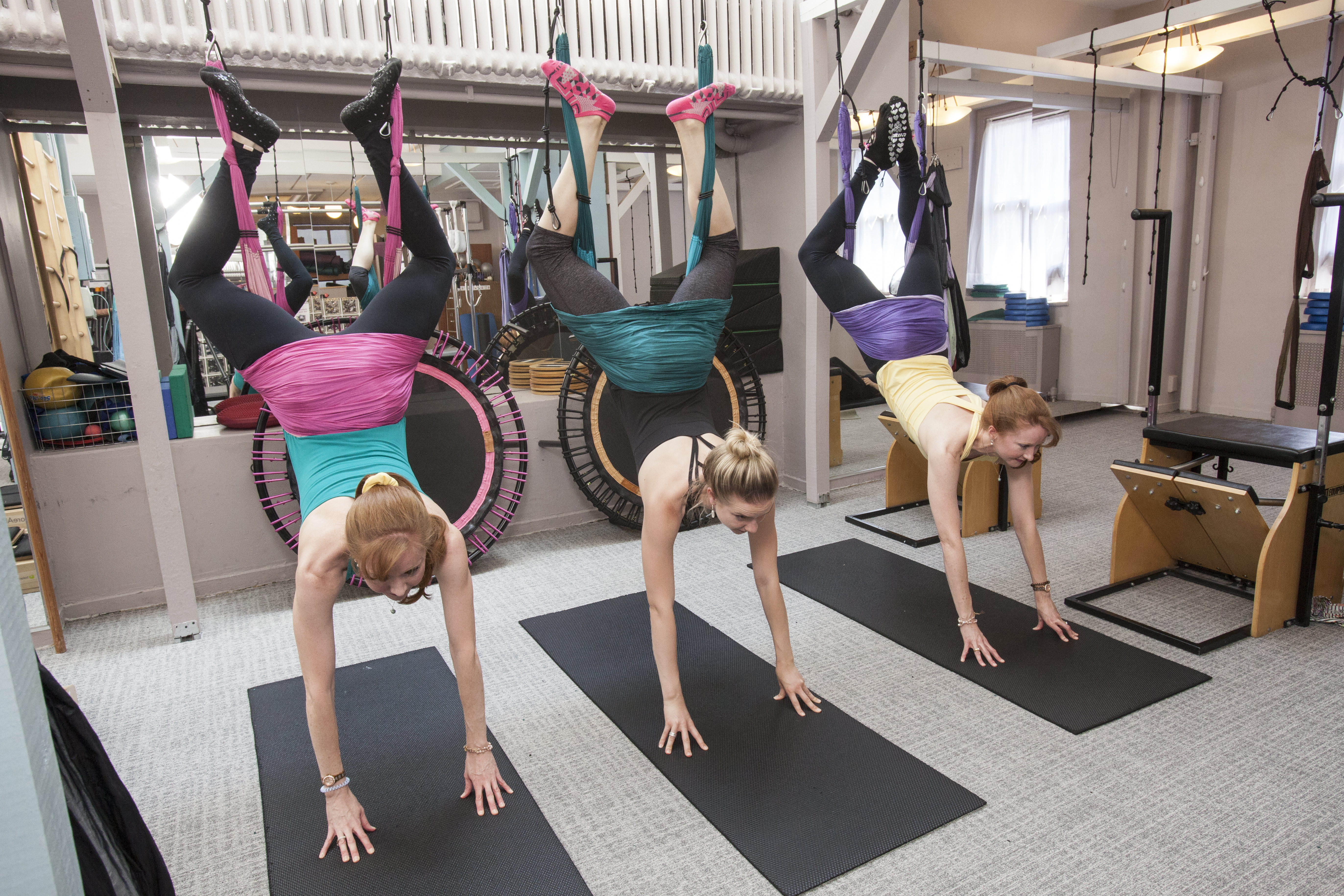Piilate Group Equipment Classes In Nyc Pilates On Fifth
