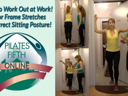 Door frame Stretches - How To Workout at WORK