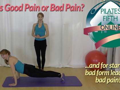 Good Pain or Bad Pain, Which One Is It?