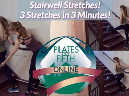 Stairwell Stretches - How to Work Out at Work