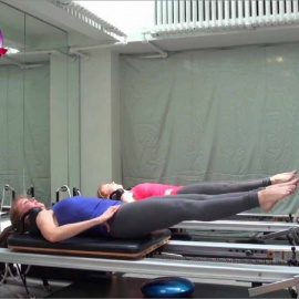 CARDIOLATES Reformer Jumpboard Workout 1