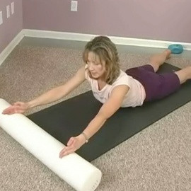 Fantastic Foam Roller Workout by Holly Holland