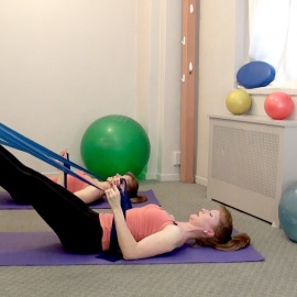 Pelvic Floor/ Pre-Natal/ Post-Partum/ Stretch Band Workout